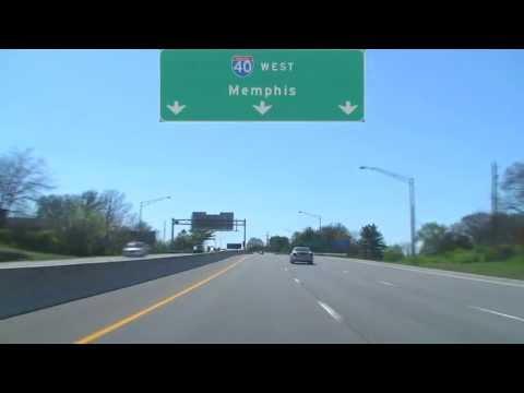 Nashville, TN: I-65 South to I-40 West