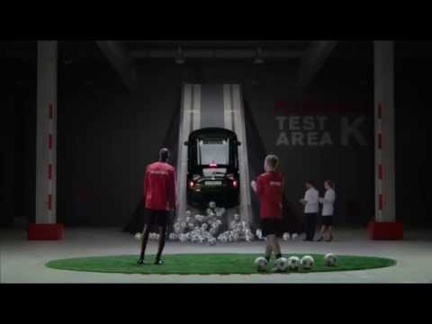 Nissan - Yaya Touré and Max Meyer UEFA Champions League bumper 3 1   YouTube Commercial