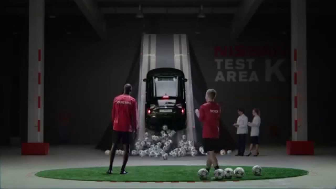 Nissan - Yaya Touré and Max Meyer UEFA Champions League bumper 3 1 | YouTube Commercial