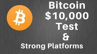Bitcoin analysis and strong platform coins!