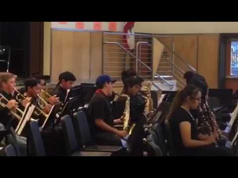 Pinole Middle School Band (House on Fire)