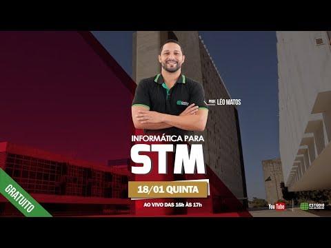 1º Aulão de Informática para STM | Professor - Léo Matos