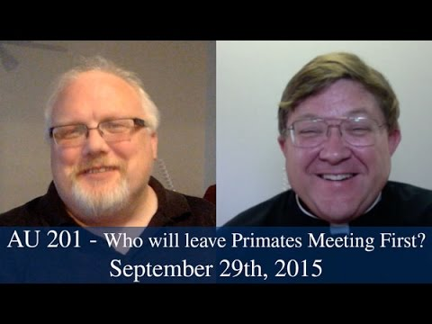 AU 201 - Who is leaving Primates Meeting first?
