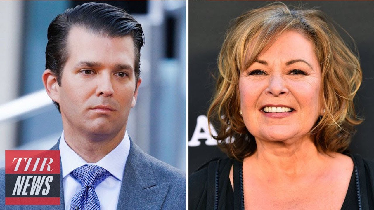 Donald Trump Jr. Praises 'Roseanne' Reboot, Implores Comic to Tackle Late Night Next | THR