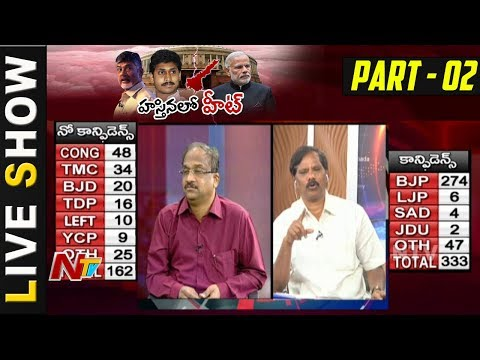 Reasons Behind TDP's Sudden Move on  NoConfidenceMotion || LIVE  SHOW  PART 2 || NTV