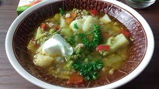 Сытный суп рагу без картофеля Овощной суп рагу без картофеля Немецкий рецепт Eintopf