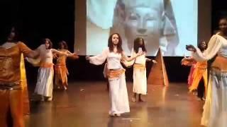 Danse Orientale + Chant Haramt Ahebak de Warda (Malika.S Cover )