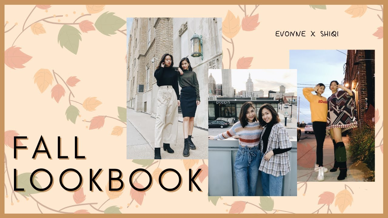 [VIDEO] - FALL LOOKBOOK | Evonne X Shiqi 1