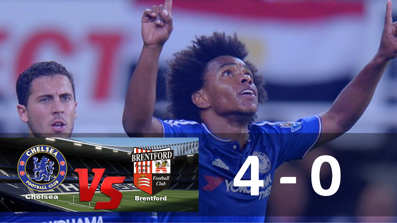 Download Chelsea vs Brentford 4-0 FA Cup 4th Round All Goals   28 Jan 2017