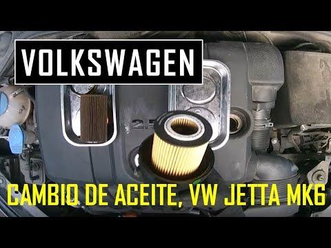 Cambio de aceite VW Jetta MK6