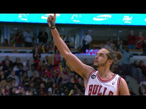 2014.03.09 - Joakim Noah Full Highlights vs Heat - 20 Pts, 12 Reb, 5 Blocks, SICK!