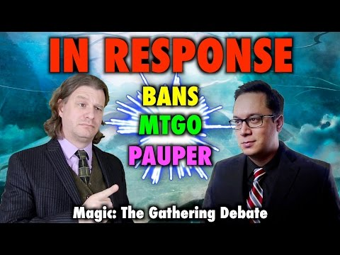 In Response: Aggressive Bannings, MTGO, and Pauper Support - A Magic The Gathering Debate