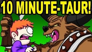 Repeat youtube video MINI MINOTAUR SONG (Animated Tobuscus Music Video - 10 Minutes)