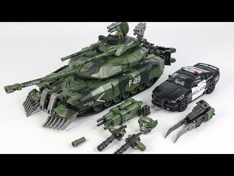 Weijiang Leader Class Combaticons Brawl M1 Tank Model Robot Figure