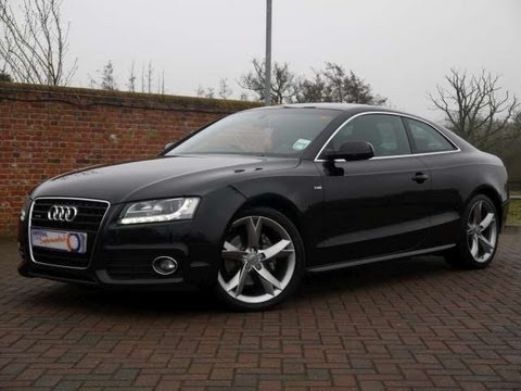2010 audi a5 s line special edition 3 0tdi quattro coupe black for sale in hampshire youtube. Black Bedroom Furniture Sets. Home Design Ideas