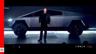 Tesla Cybertruck Unveiling