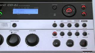 CD-2i SD/CD Recorder Introduction (Part 1)