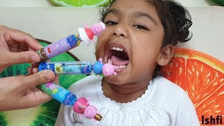Pre School Toddler Ishfi's Color Song with Peppa Candy