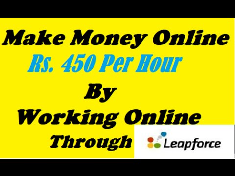 Make Rs. 450 Per Hour by working Online Job | 100% Genuine way of making money | Make Money Online