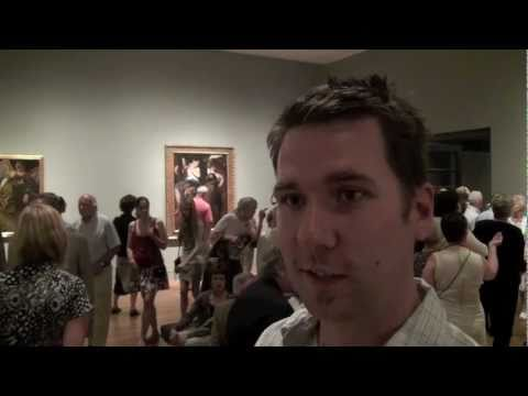 Caravaggio and His Followers in Rome . Opening Night at the National Gallery of Canada
