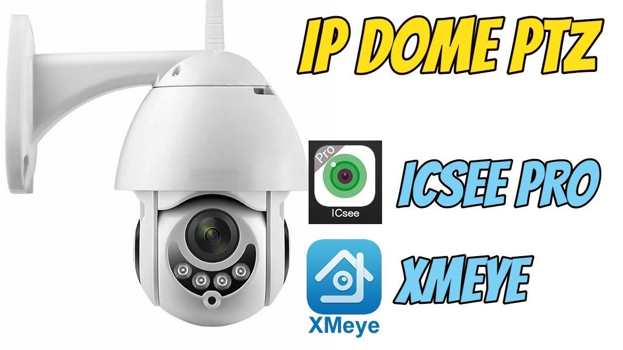 Câmera IP Speed Dome PTZ Giro Mais Rápido com app Xmeye - TioChicoShop