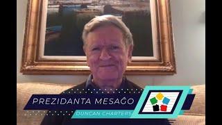 Video-mesaĝo de la Prezidanto de UEA Duncan Charters (aprilo/2020)