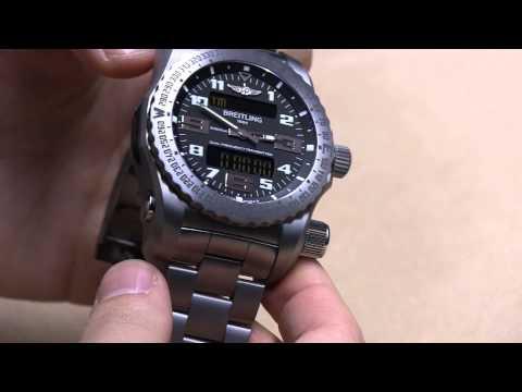 Breitling Emergency II Watch Hands-On