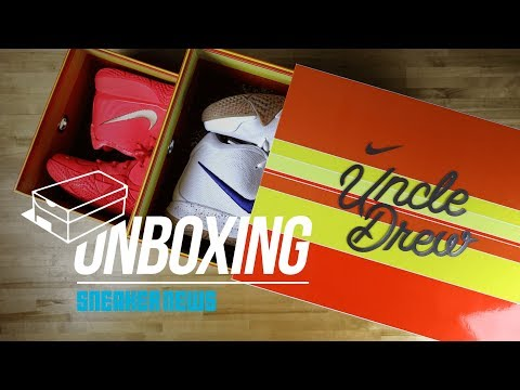Unboxing The Uncle Drew Nike Kyrie 4 Promo Box