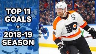 Top 11 Goals Of 2018-19 NHL Season