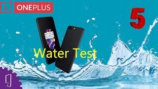 OnePlus 5 Water Test