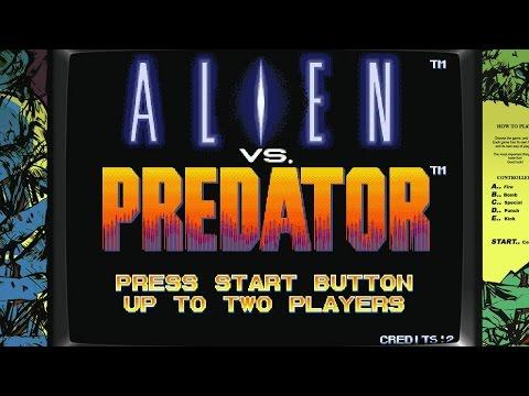Alien vs. Predator [Arcade][HD-Gameplay 60 FPS]
