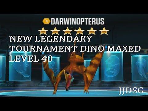 Darwinopterus Level 40 Max   New Legendary Tournament Creature   Jurassic World the Game  EP#37
