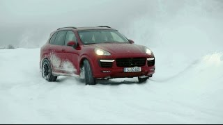 Porsche: Walter Röhrl on ice with the Cayenne GTS and Turbo S.