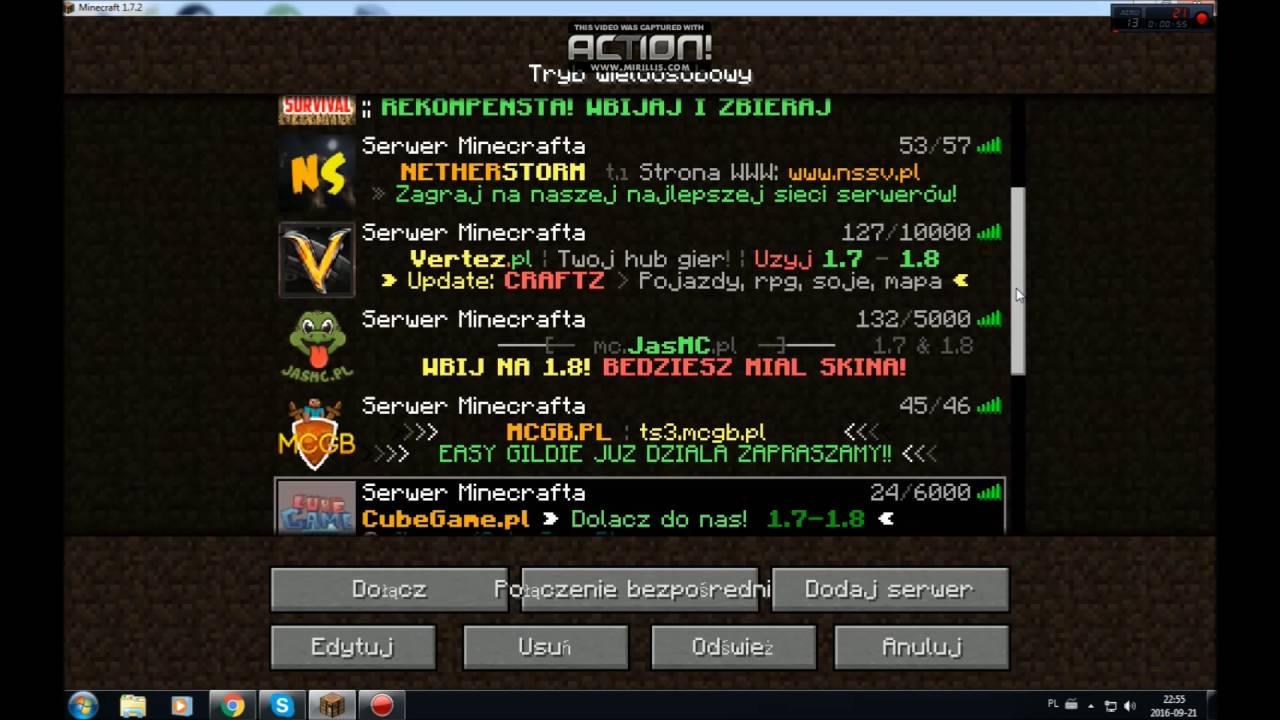 Top 10 Najlepszych Serwer 243 W Minecraft Youtube