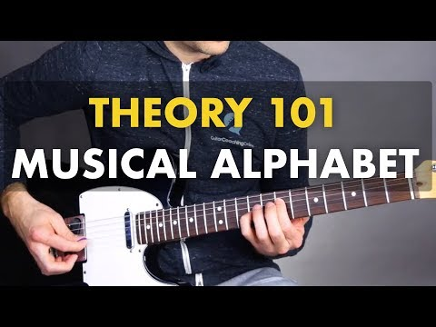 Learning The Fretboard - Musical Alphabet