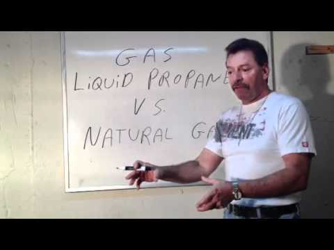 Natural gas vs. LP