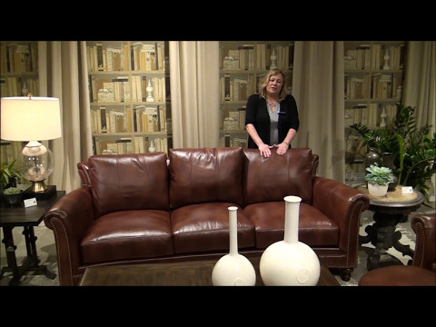 Bradington Young Richardson Leather Sofa Set You