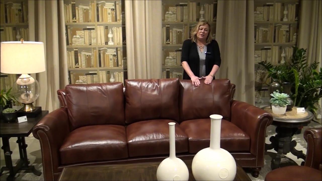 Bradington Young Richardson Leather Sofa Set