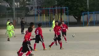 U-11後期リーグ 三筑キッカーズ戦 2018.01.15