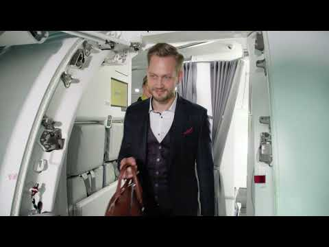 AirBaltic - Fly With Ease Via Riga