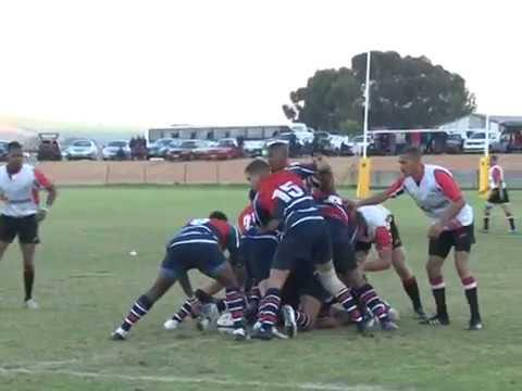 Wesbank Rugby Football Club (RFC). Malmesbury, Western Cape