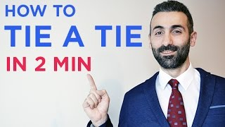 How to tie a tie and re-use it in an easy way - less than 2 min