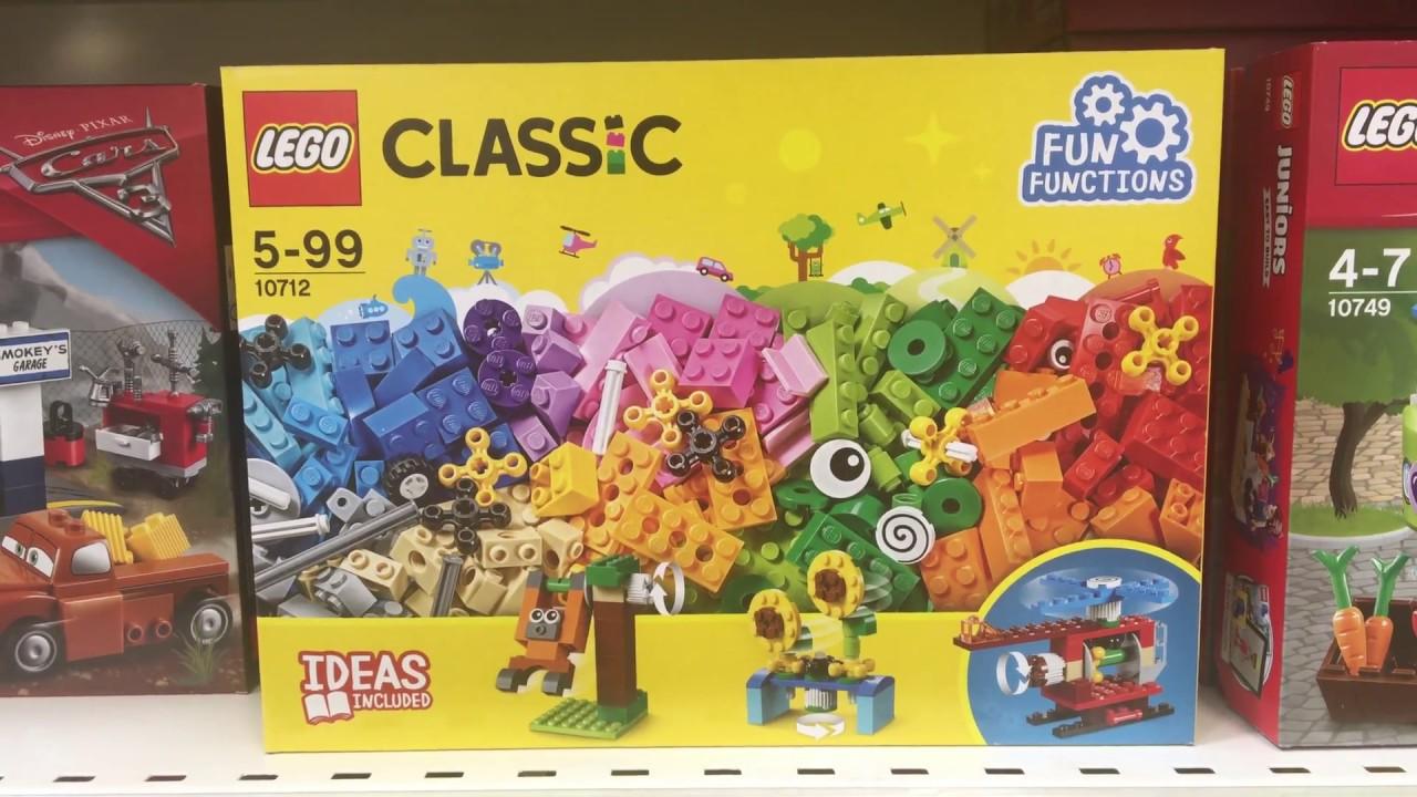 Lego 10712 Lego Bausteine Set Zahnräder 10712 Classic