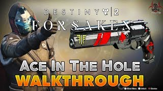 Скачать Destiny 2 Forsaken Ace In The Hole Walkthrough Cayde S Will Quest Final Step