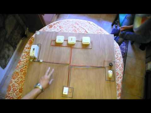 Conmutar una luz desde tres puntos e instalar un timbre - Timbre para casa ...