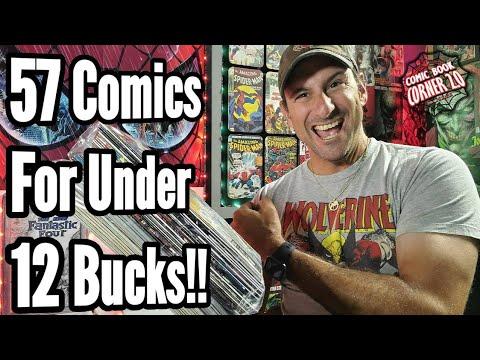 Scored 57 Comic Books For Under 12 Bucks!!