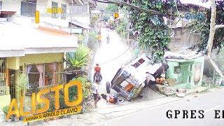 Alisto: Mga motorsiklo, inararo ng jeep na nawalan ng preno!