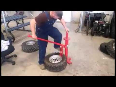 Lawn Mower Tire Bead Breaker Portable Mini Tire Changer