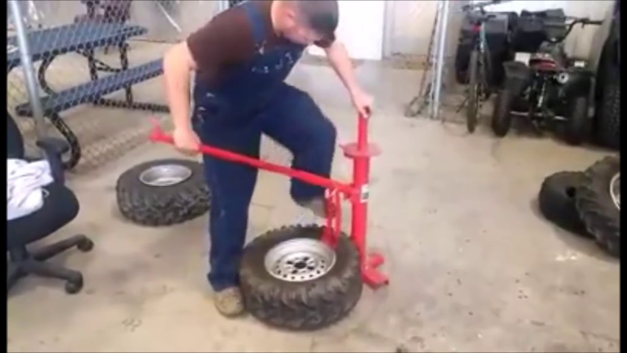 harbor freight manual tire changer youtube rh youtube com ATV Tire Changer Tool Tire Changing Tools