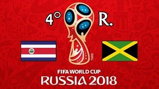 COSTA RICA v. JAMAICA - CONCACAF 2018 FIFA World Cup - GRUPO B
